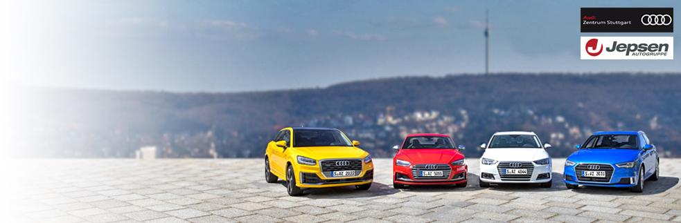 Best vehicles from  the Audi Centres Stuttgart & Regensburg