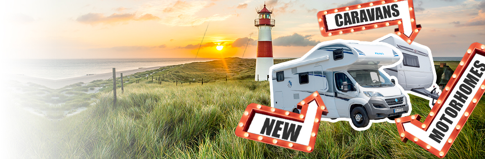 Motorhomes and caravans at Autobid.de