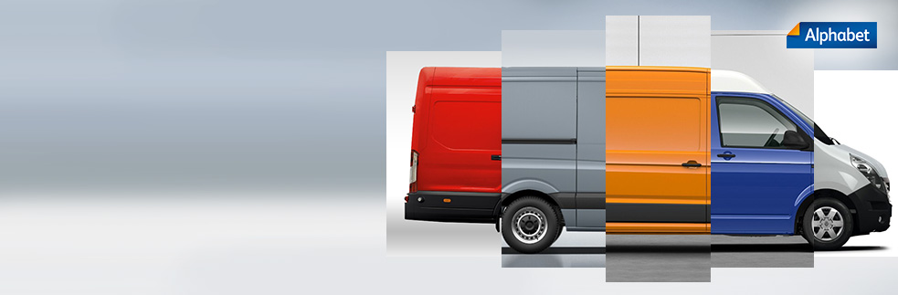 Light commercial vehicles  from Alphabet