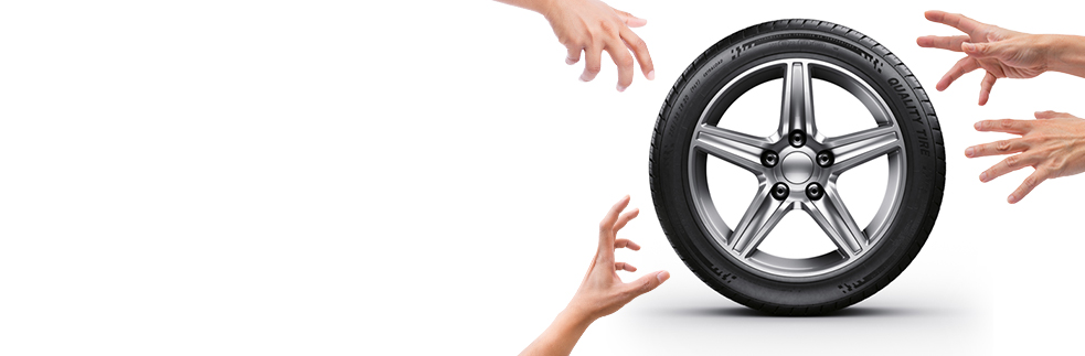 Take the Tire: the wheel outlet